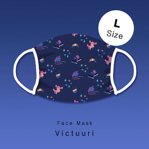 [Yuri!!! on ice] Victuuri - Face mask (L size)