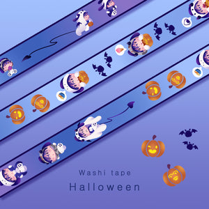 [Yuri!!! on Ice] Halloween - Washi tape