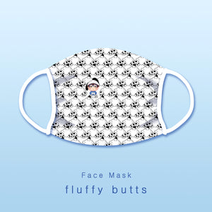 Pre-order [Yuri!!! on ice] Fluffy butts - Face mask