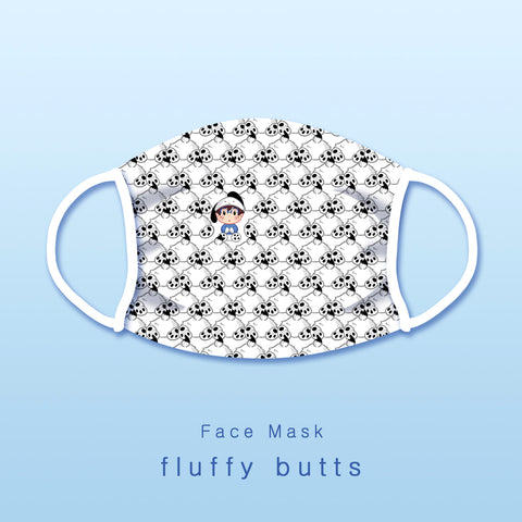 [Yuri!!! on ice] Fluffy butts - Face mask