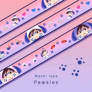 [Yuri!!! on Ice] Pawsies - Washi tape