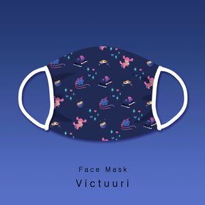 Pre-order [Yuri!!! on ice] Victuuri - Face mask