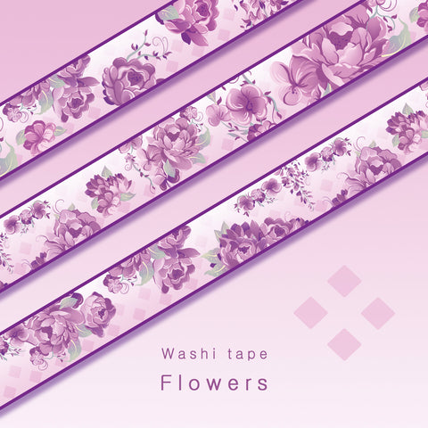 Flowers - Washi tape