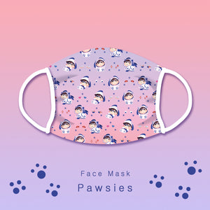 [Yuri!!! on Ice] Pawsies - Face mask