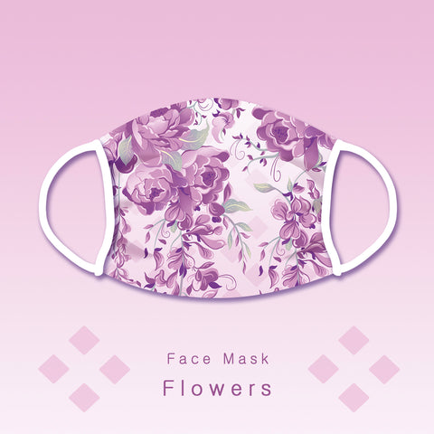 Pre-order - Flowers - Face mask