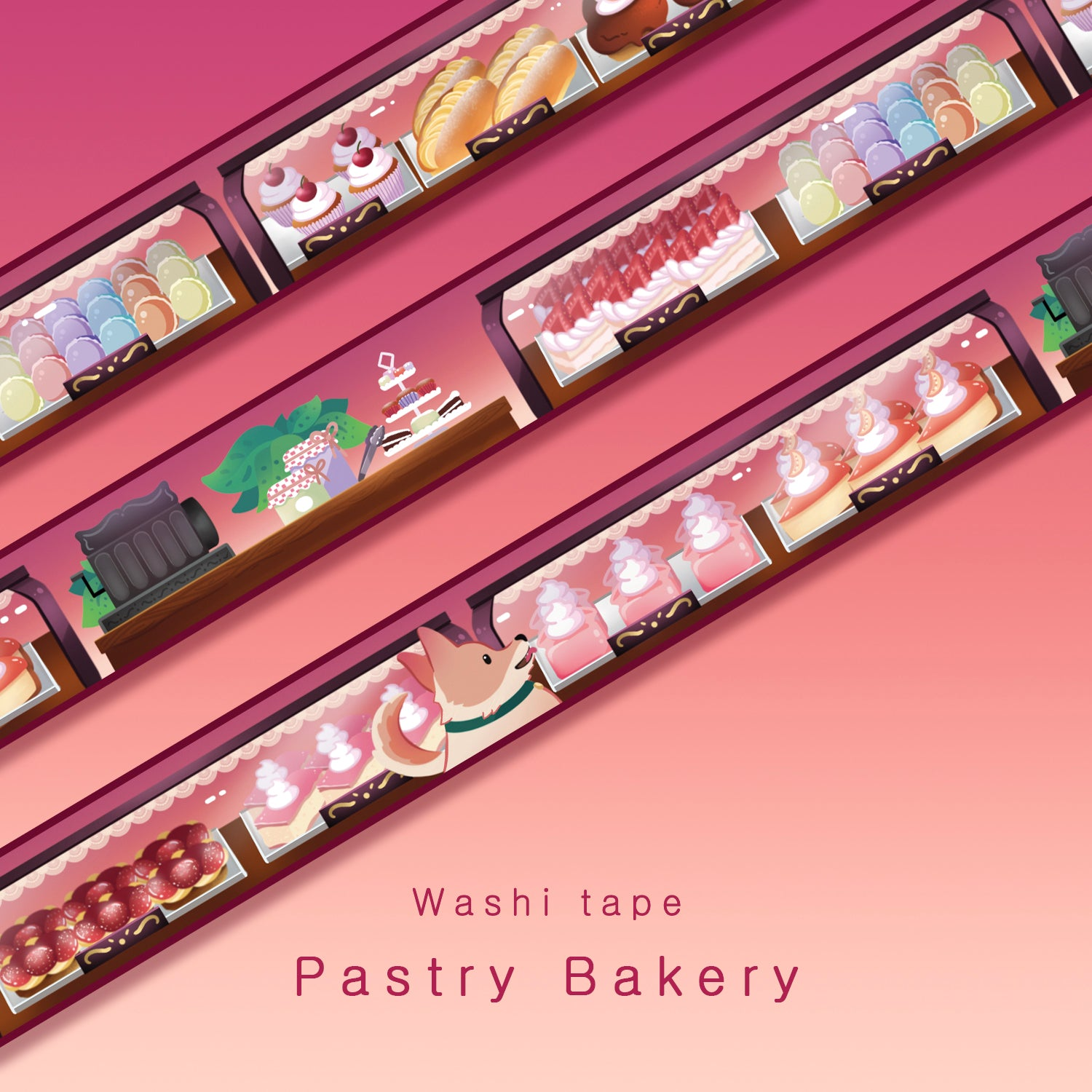 Pastry Bakery - Washi tape