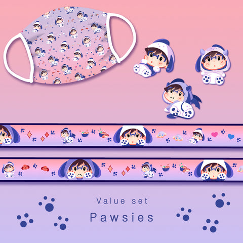 [Yuri!!! on Ice] Pawsies - Value set