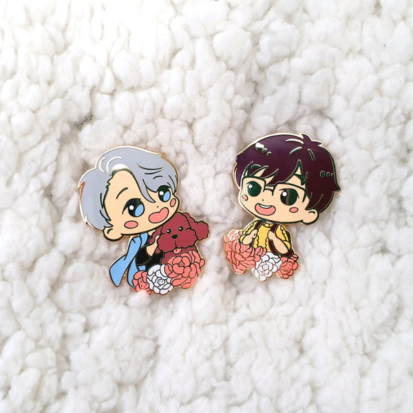 [ Yuri!!! on Ice ] Sweet Yuuri - enamel pin