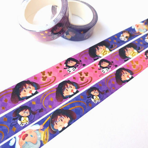 [Yuri!!! on Ice] Demonyuu's lights - Washi tape