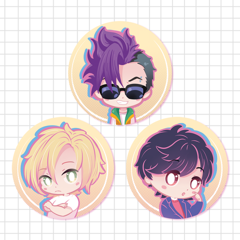 Banana Fish - Buttons