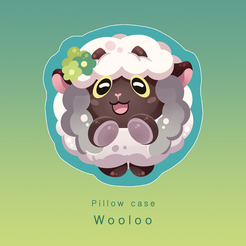 [Pokemon] Wooloo - pillow case