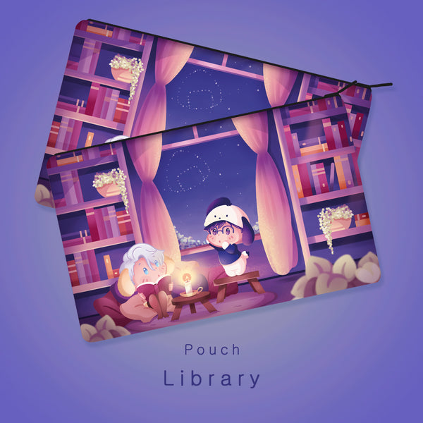 [Yuri!!! on Ice] Library - Pouch (pre-order)