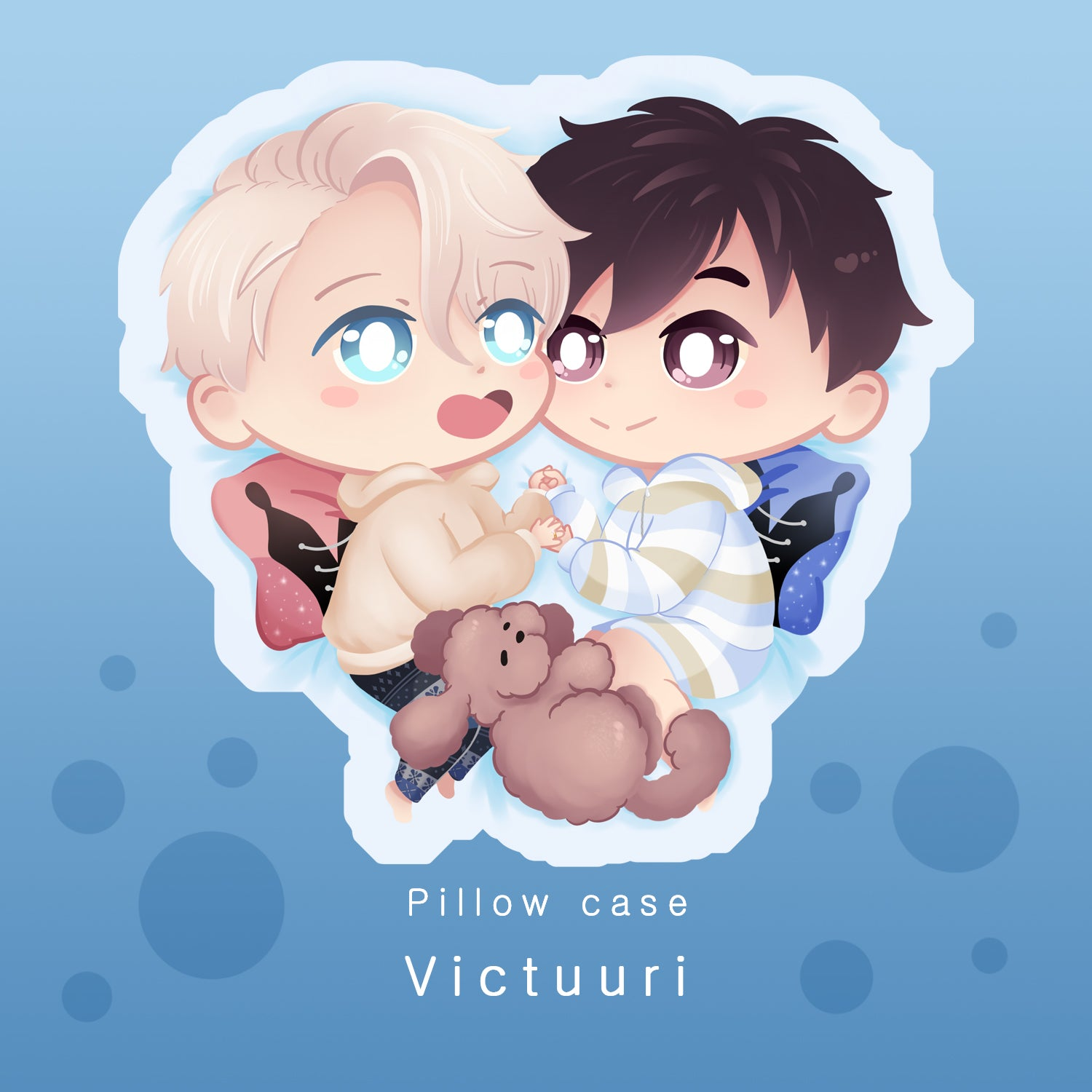 [Yuri!!! on Ice] Victuuri - Pillow case - 2nd batch