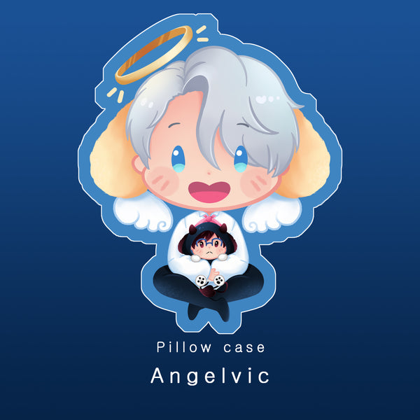 [Yuri!!! on Ice] Angelvic - Pillow case