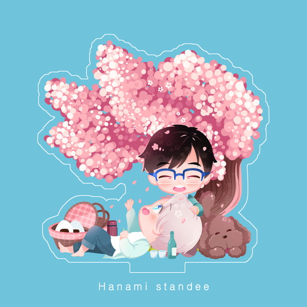 [ Yuri!!! on Ice ] Hanami - standee