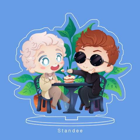 [Good Omens] - standee