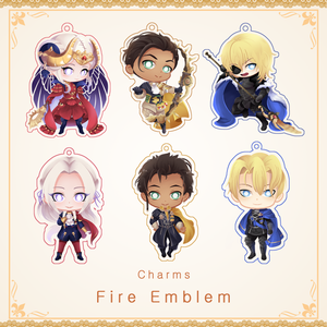 [Fire Emblem] - charms (Restocked)