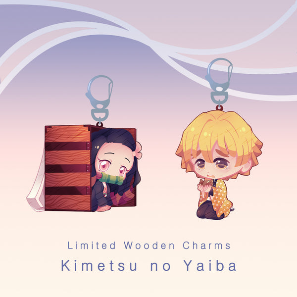 [KNY] Wooden charms (limited)