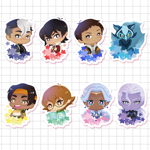 [Voltron] Stickers