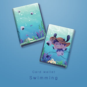 [Yuri!!! on Ice] Swimming - Card wallet