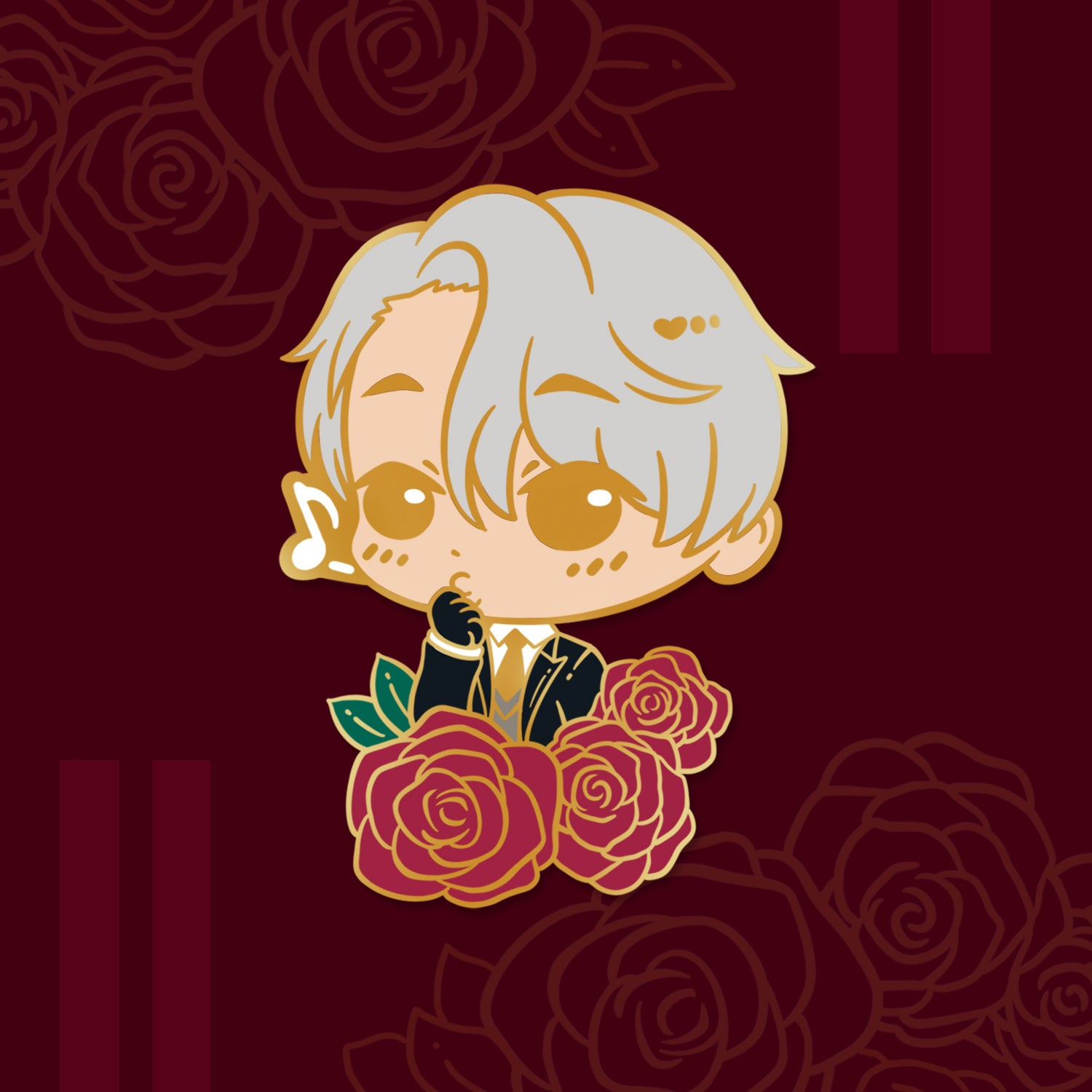 [ Yuri!!! on Ice ] Thirsty Victor - enamel pin