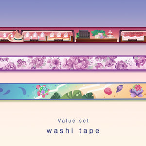 [Washi tape set] - value set
