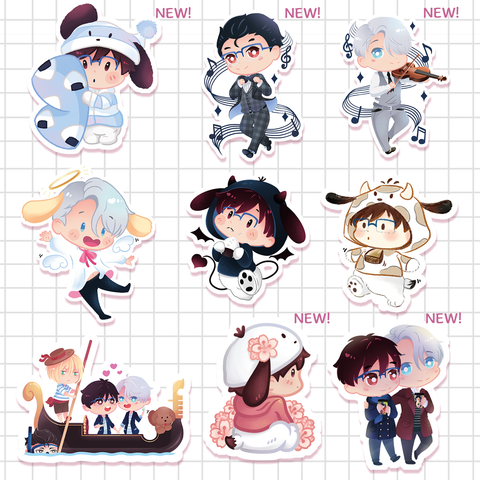 [Yuri!!! on Ice] stickers