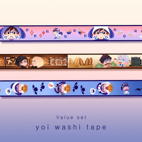 [Washi tape set] - Yuri!!! on ice - value set