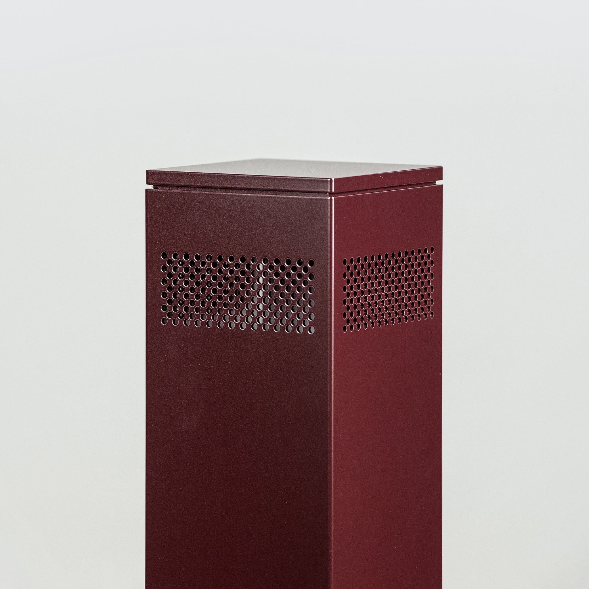 HAAL ROSA Scenting Device B1 in RAL 3007, Schwarzrot (powder-coated)