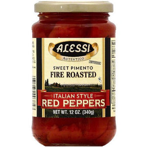Alessi Fire Roasted Red Peppers 7.5oz