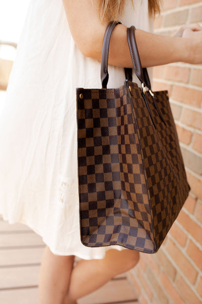 The Tiffany Checkered Bag