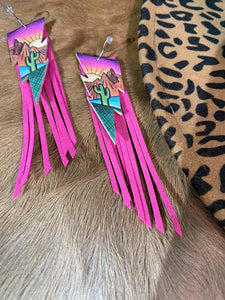 The Phoenix Fringe Earrings
