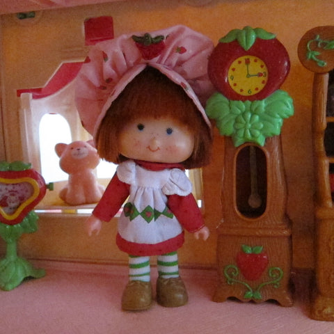Grandfather clock for Berry Happy Home dollhouse