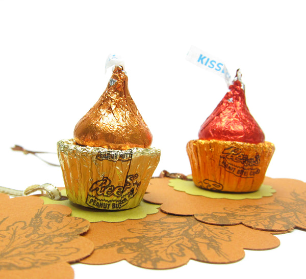 Autumn Gift Tags with Candy Cupcakes