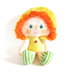 Strawberry Shortcake rag dolls