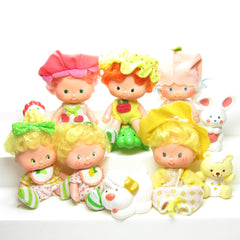 Baby Strawberry Shortcake Characters