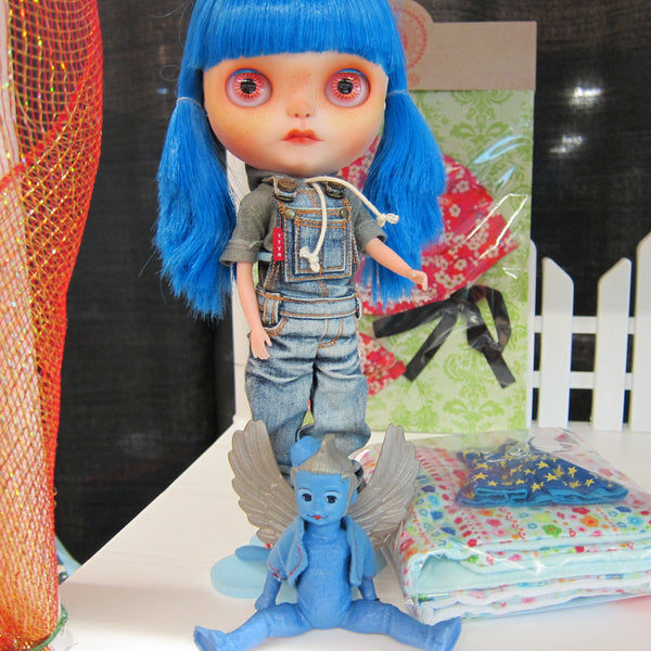 Custom-Blythe-or-Icy-Doll-with-Denim-Overalls