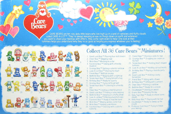 Care Bears PVC miniature figurines