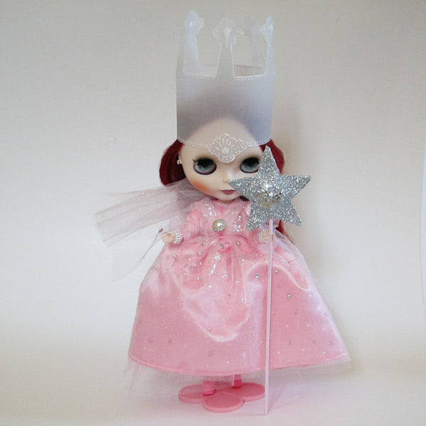 Glinda the Good Witch Blythe Doll Costume