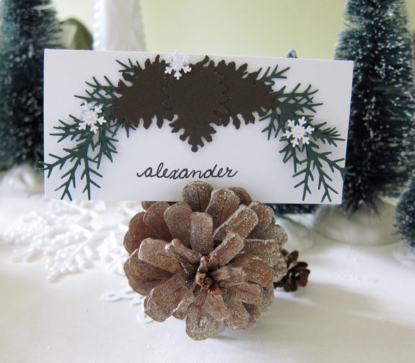 Pine Cone Place Card