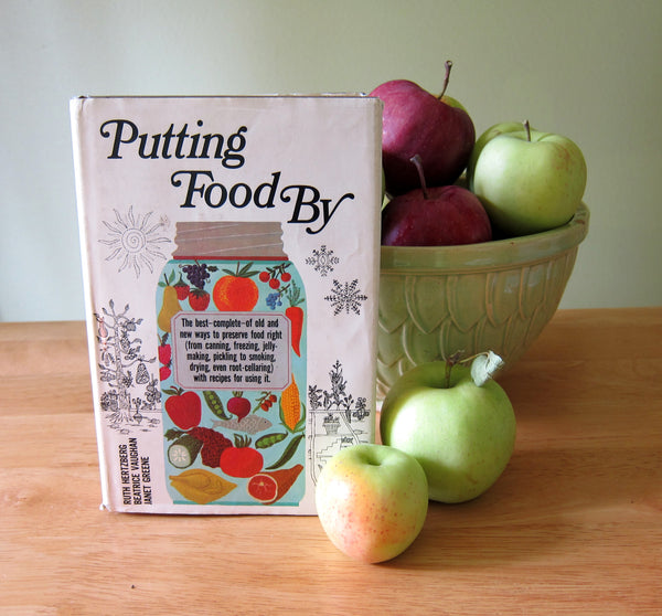 Putting Food By book, tips for storing fruits and vegetables