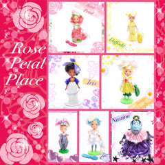 Rose Petal Place dolls by Kenner toys