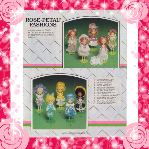 Rose Petal Place Fashions for dolls