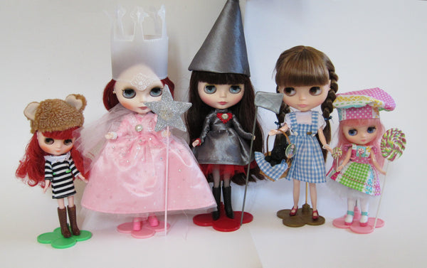 Wizard of Oz Blythe Doll Costumes