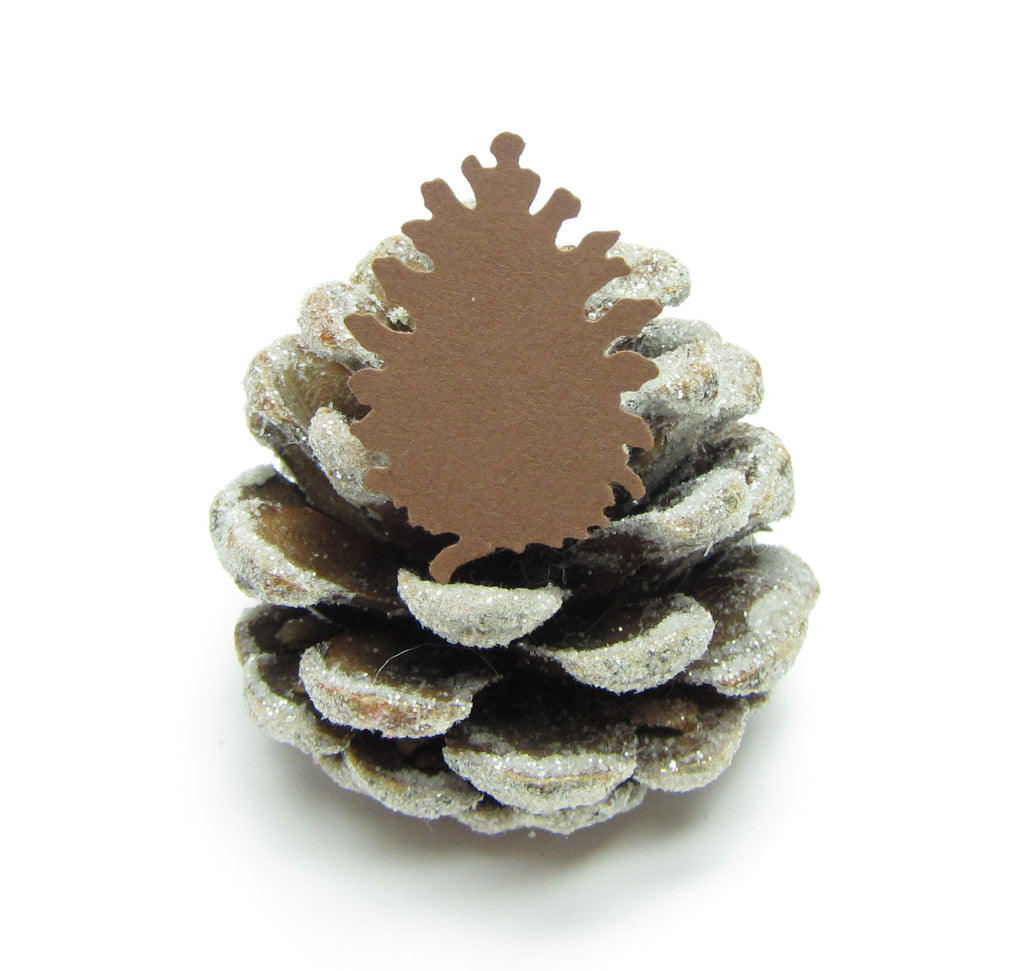 Pine Cone Confetti Paper Punches for Weddings, Paper Crafts