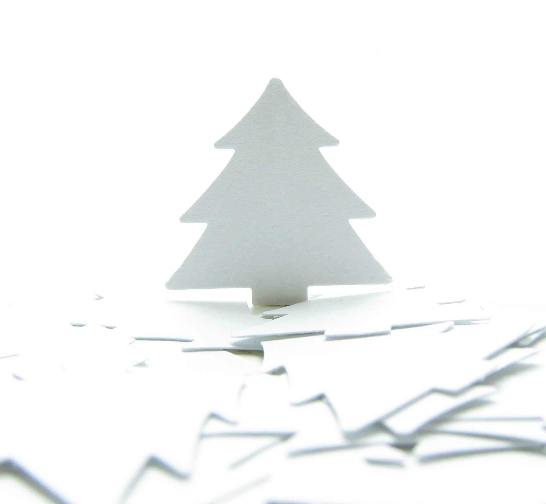 White pine or Christmas tree paper punches