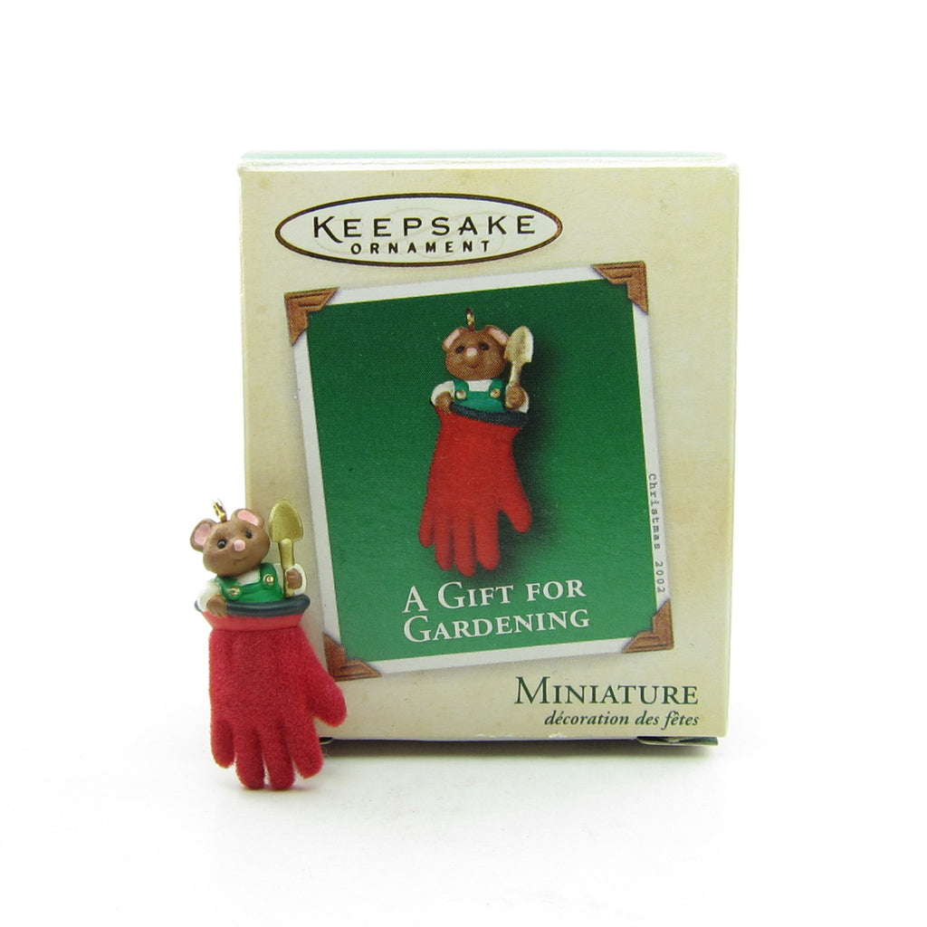 A Gift for Gardening Miniature 2002 Hallmark Keepsake Ornament