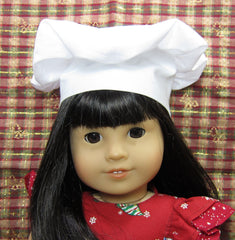 Chef hat for american girl and 18 inch dolls