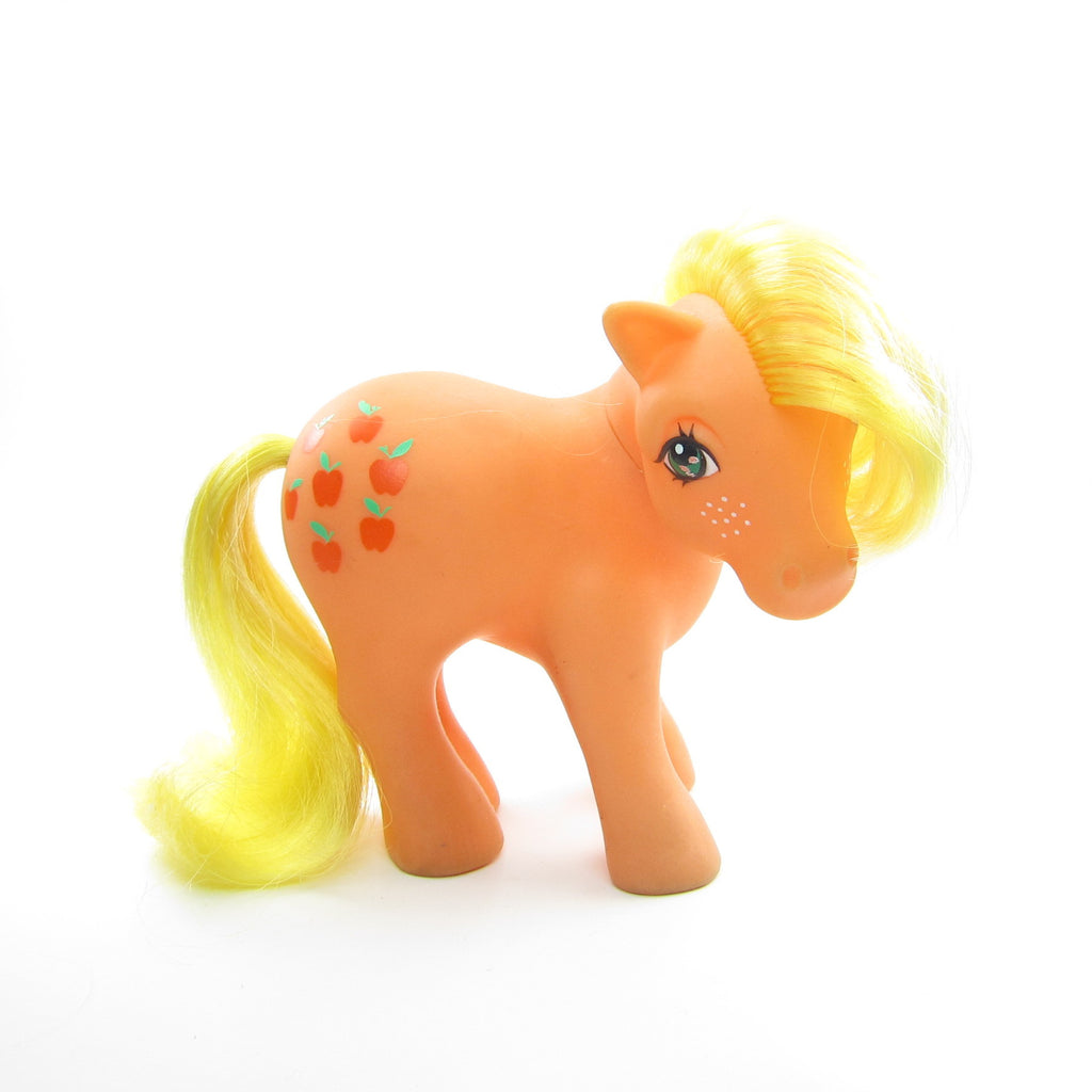Applejack My Little Pony Vintage G1 Short Hair Version
