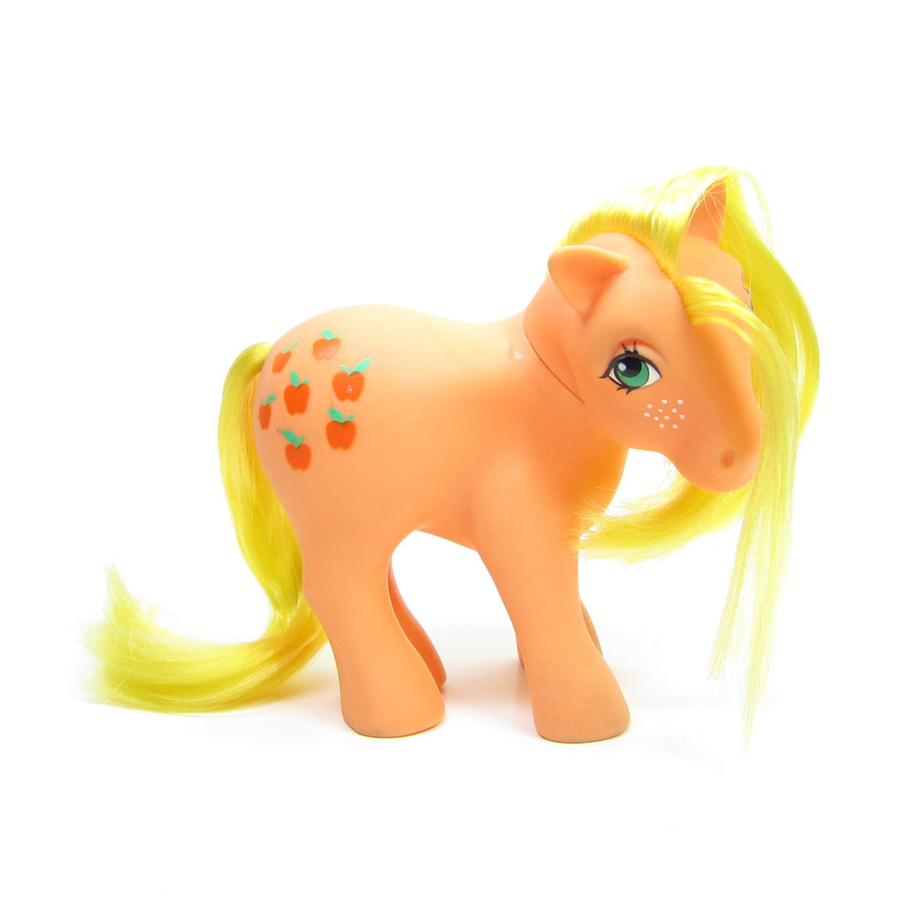 Applejack My Little Pony Vintage G1 Long Hair Version